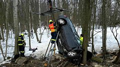 Tragická dopravní nehoda u Dolních Niv.