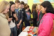O závěrečný projektový den (na snímku) byl mezi studenty zájem