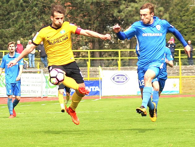 Kapitán FK Baník Sokolov Petr Glaser