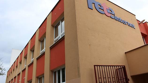Pavilon dílen na ZŠ Pionýrů, kam se přesunou třídy střední policejní školy.