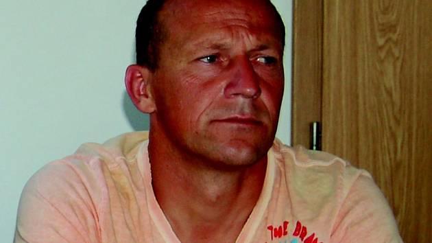 Trenér A mužstva mužů Baníku Sokolov Boris Kočí.