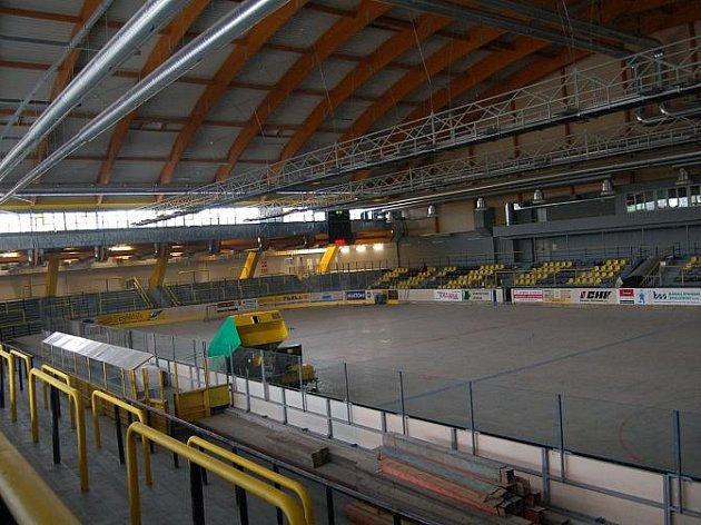 Zimní stadion v Sokolově po rekonstrukci