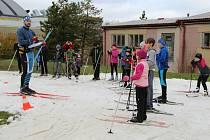 Podzimní soutěž v biatlonu