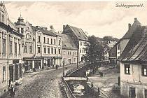 Hauptstrasse - Pluhova ulice.