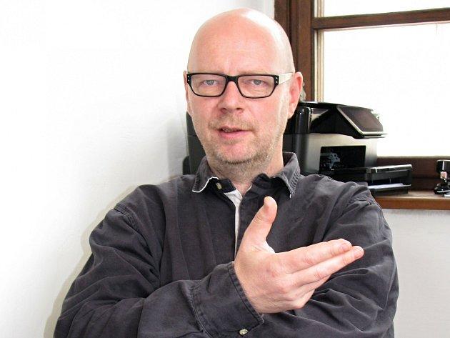 Krajský zastupitel a loketský radní Petr Zahradníček (TOP 09).
