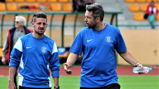 Zleva David Vaněček a Pavel Horváth.