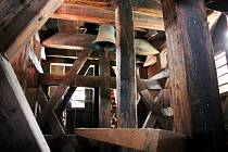 Jediný ze čtyř zvonů, který ve věži kostela sv. Václava zůstal, je zvon Florián.