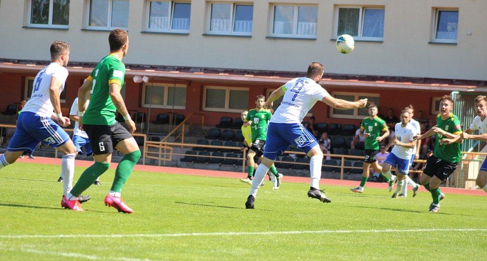 ČFL: FK Baník Sokolov - FK Meteor Praha