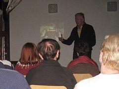 Přednáška poodhalila historii řádu templářů.