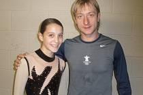 Dominika Pýchová s Jevgenijem Pljuščenkem