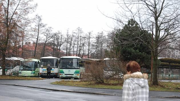 Bývalé autobusové nádraží Sokolov