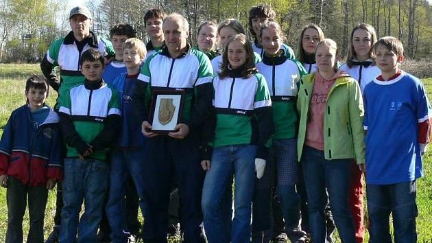 Orientační běžci Baníku Sokolov vyhráli Ašský štít podruhé za sebou.