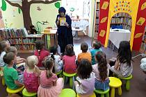 Setkání v sokolovské knihovně.