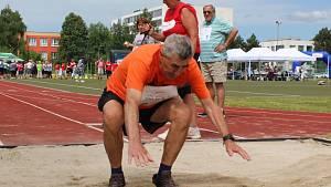 Sportovní hry seniorů v Sokolově