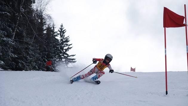 Lyžařské závody v Bublavě.