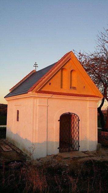 Kaplička svatého Vavřince prošla prvním bodem rekonstrukce