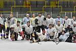 Utkání play off Kynšperského poháru Vikings Sokolov - Falcons Sokolov