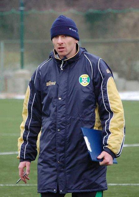 Trenér Hašek po prvním tréninku na Baníku.