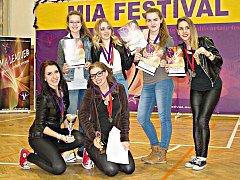 Skupina Rytmus se stala mistrem Mia Dance league a hlavním vítězem v roce 2015.