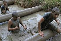 V bývalém lom měřili síly i závodníci při Bahňáku