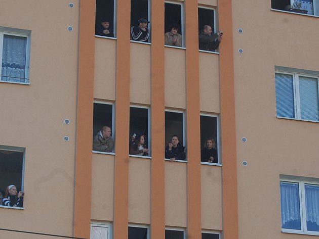 Panelové domy v Rotavě