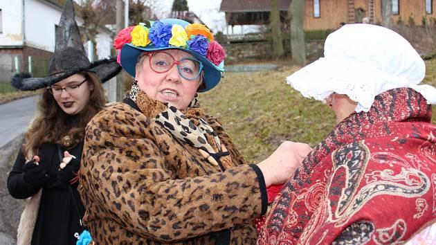 Oslavy konce masopustu mají v Ležnici svou tradici.