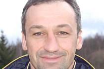 Trenér Aleš Jindra.