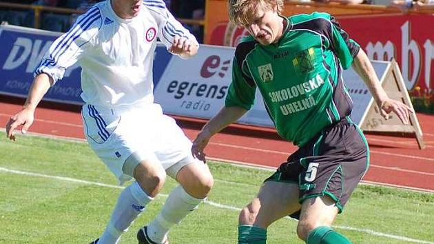 V akci v utkání proti Krči domácí Petr Mach.