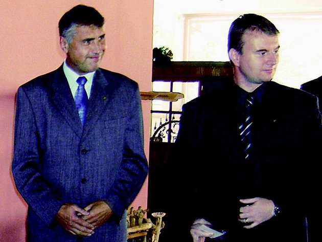 Robert Franče (vpravo).