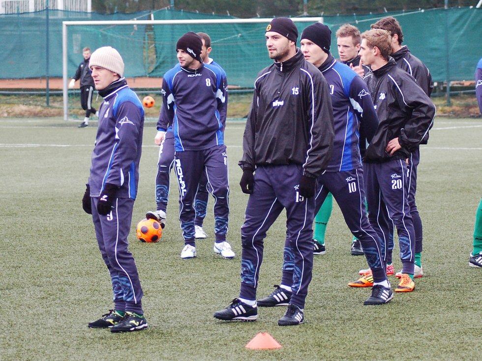 Zimní příprava FK Baník Sokolov
