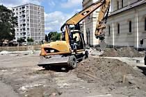 DOTACI na infrastrukturu chce získat město Kraslice z ROPu. Aktuálně teď ze stejného dotačního programu staví klidovou zónu v centru.