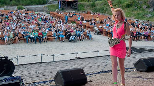 Na stojáka a Mňága v Lokti.