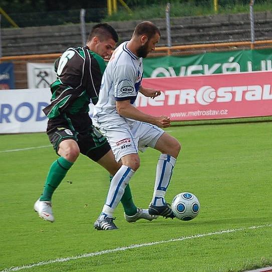 II. liga: FK baník Sokolov - Ústí nad Labem