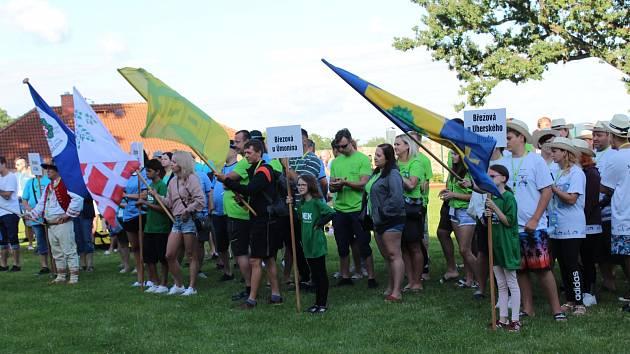 V sobotu 31. července se v Březové u Sokolova uskutečnil již 28. ročník tradiční kulturně- -společenské a sportovní akce Setkání měst a obcí se společným názvem Březová Brezova.