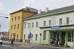 Sokolov - Budova sokolovského nádraží