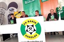 Tisková konference Baníku Sokolov před začátkem jarní poloviny sezony