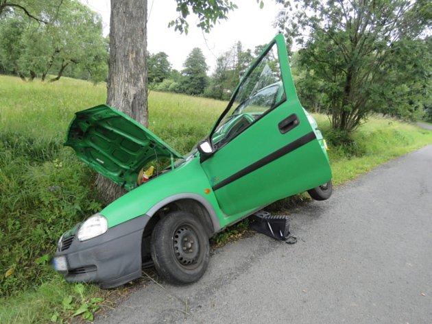 Náraz do stromu řidič nepřežil.