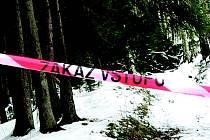Zákaz vstupu do lesů.