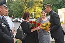 Pietního aktu se zúčastnili i potomci Kronbergerů zNěmecka.