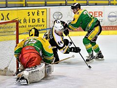 Hokejisté Baníku vyhráli na ledě druhého Jablonce 5:3.