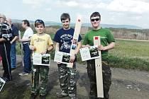V kategorii starších žáků získal 1. místo Michal Zajíček a 3. místo Patrik Skládaný. V juniorské kategorii byl první Michal Chrástka.