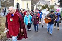 Oslavy masopustu mají v Ležnici u Horního Slavkova dlouholetou tradici.