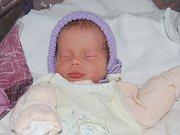 Viktorka Roháčová z Kynšperku se narodila 7.ledna