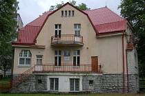 Vila v Husově ulici.