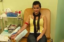 Jednou z častých návštěv sokolovského transfuzního oddělení  jsou studenti Střední živnostenské školy Sokolov. Každý rok odevzdají několik desítek litrů vzácné tekutiny