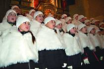 Andílci zazpívali pro Nadační fond Ještěřice
