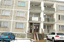 Objekt v ulici Palackého, kde sídlí úřad práce.
