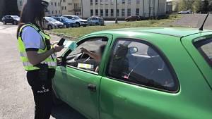 Dopravně bezpečnostní akce policie
