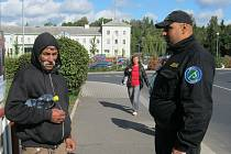 Asistent prevence kriminality v lokalitě u sokolovského vlakového nádraží