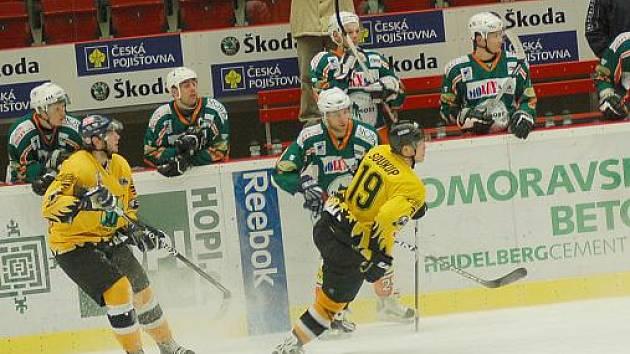 II. hokejová liga: Baník Sokolov - Baník Most